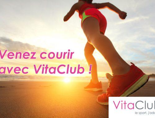 Courir en groupe avec VitaClub!