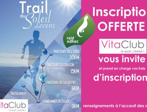 Inscription OFFERTE ! Trail du soleil de Levens