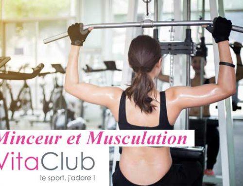 Forme, minceur et musculation en salle de Fitness