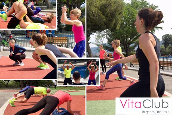 VitaFit, fitness en extérieur à Nice