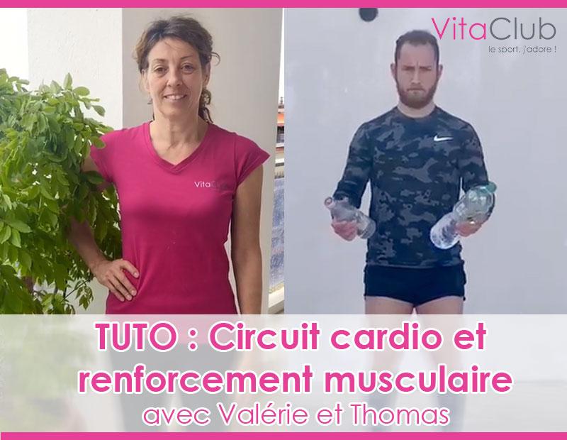 Circuit cardio et Renforcement musculaire